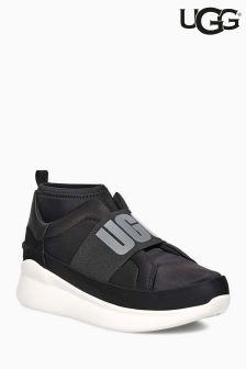 UGG® Black Neutra Logo Sneaker