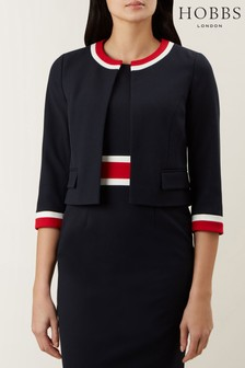 Hobbs Blue Annabel Jacket