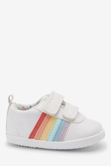 Touch Fastening Rainbow Crawler Shoes (Younger)