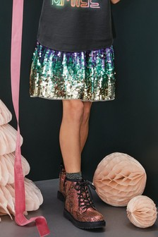 Ombre Sequin Skirt (3-16yrs)
