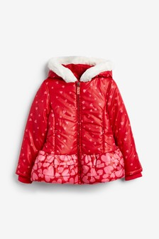 Billieblush Red Heart Jacket