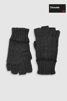 Guantes sin dedos de Thinsulate