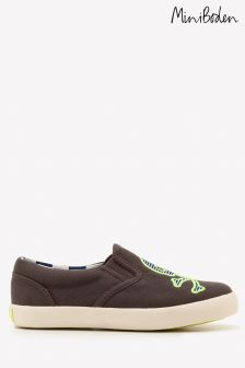 Boden Brown Novelty Slip-On Shoe