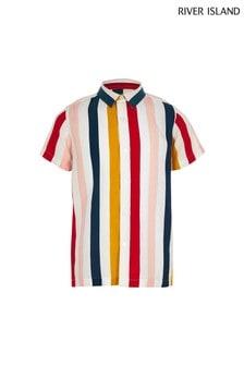 River Island Multi Stripe Shirt