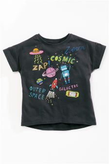 Cosmic Print T-Shirt (3mths-6yrs)