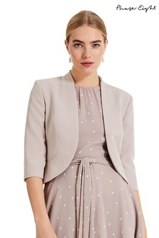 b5f3ce6c591 Phase Eight Brown Tammy Jacket