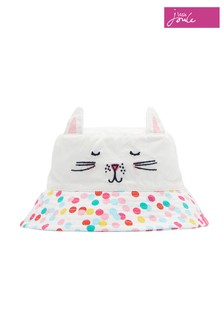 Joules White Hattie Character Hat