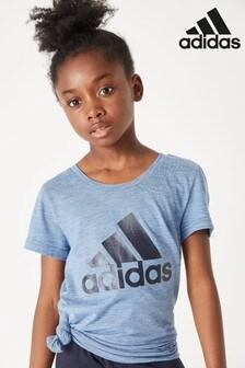 adidas Blue ID Winner T-Shirt