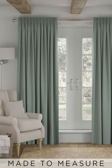 Cotton Sage Made to Measure Curtains