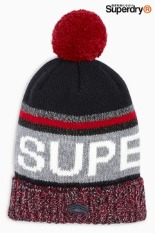 Superdry Navy Super SD Beanie