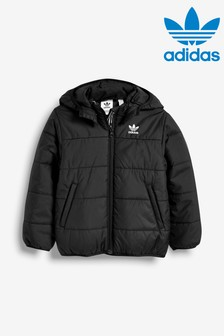 adidas Originals Little Kids Black Padded Jacket