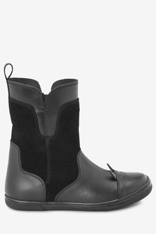 Leather Toe Cap Boots (Older)