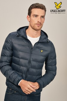 Lyle & Scott Navy Padded Jacket