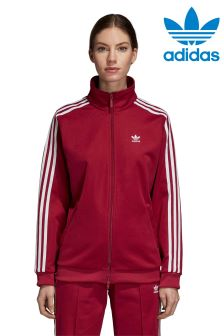 adidas Originals Red Contemporary Track Top