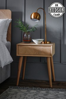 Hudson Living Milano Bedside Table