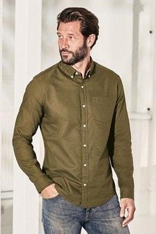 Regular Fit Long Sleeve Oxford Shirt