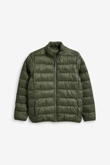 Barbour® Olive Penton Quilt Boys Jacket