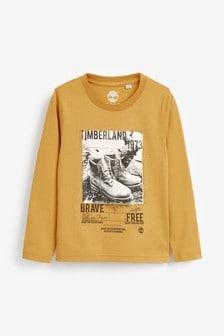 Timberland® Yellow Long Sleeve T-Shirt
