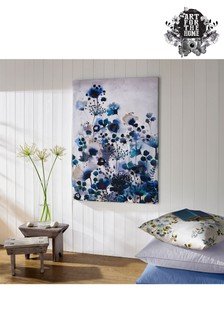 Blue Watercolour Canvas by Art For The Home