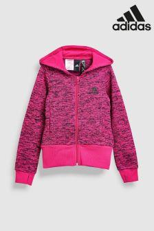 adidas Pink ID Warm Hoody