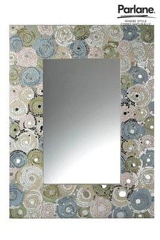 Zrkadlo s mozaikovým rámom Parlane