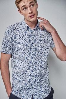 Regular Fit Floral Shirt