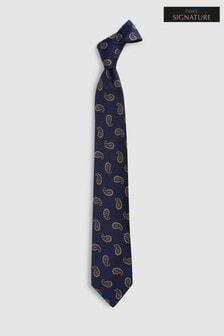 Signature Paisley Pattern Tie