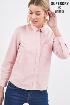 Superdry Pink Oxford Shirt