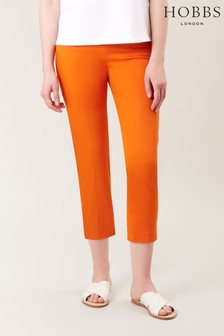 Hobbs Orange Mallory Capri
