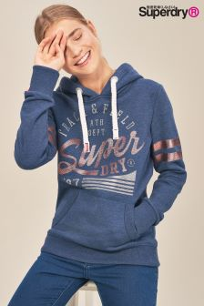 Superdry Track And Field Over Head Hoody