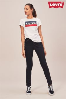 Levi's® Black Slate Skinny 501® Jean