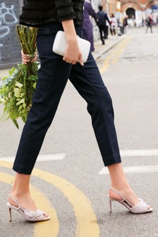 Tailored Straight Jeans