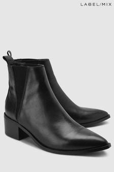 Mix/E8 Leather Ula Boot