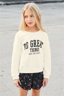 Slogan Sweater (3-16yrs)