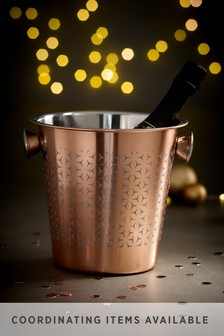 Rosa Metallic Champagne Bucket