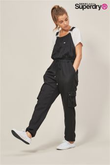 Superdry Black Utility Jumpsuit