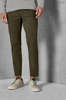 Ted Baker Khaki Seleb Slim Fit Chino