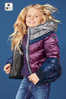 Short Padded Jewel Jacket (3-16yrs)