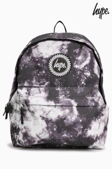 Hype. Monotone Black Space Backpack