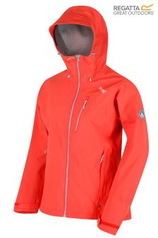 Regatta Peach Birchdale Waterproof Shell Jacket