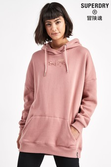 Superdry Pink Anna Hoody