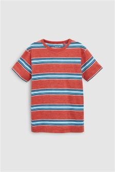 Textured Stripe T-Shirt (3-16yrs)
