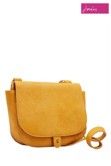 Joules Gold Kelby Bright Bag