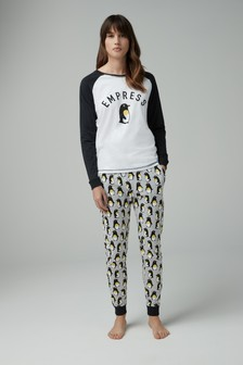Womens Empress Penguin Pyjamas