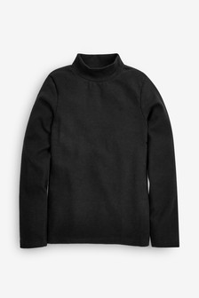 Turtle Neck Long Sleeve Top (3-16yrs)