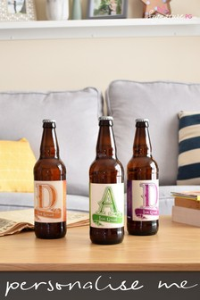 Personalised D A D Set of 3 Beers by Signature Gifts