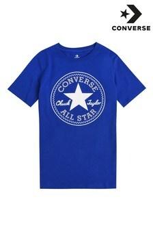 Converse Boys Blue Chuck Patch T-Shirt