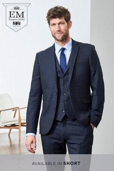 Skinny Fit Signature British Wool Suit: Jacket