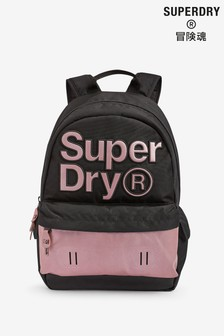 Superdry Purple Reflective Montana Backpack