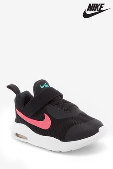 Nike Black/Pink Air Max Oketo Infant Trainers